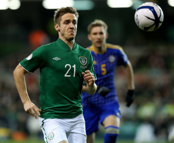 Soccer - FIFA 2014 World Cup - Qualifying - Group C - Republic of Ireland v Kazakhstan - Aviva Stadium