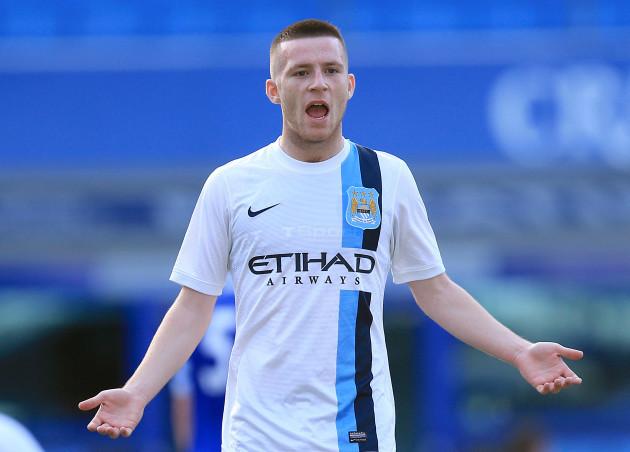 Soccer - Barclays U18 Premier League - Final - Manchester City v Everton - Goodison Park