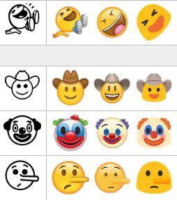 emoji different platforms