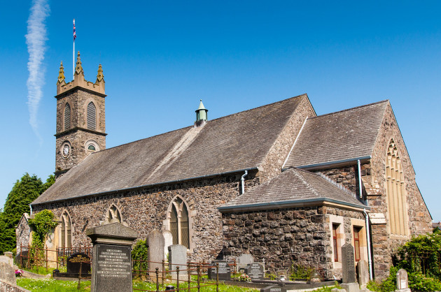 St Aidan's Church of Ireland Church, Glenavy. Lisburn