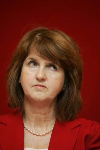 File Photo Joan Bruton to Resign. Reports suggest the Joan Burton is going to resign today.