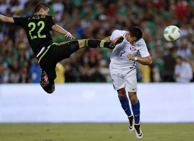 Chile Mexico Soccer
