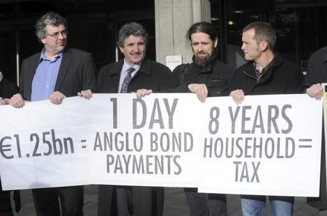 25/1/2012. Anti Banks Protests