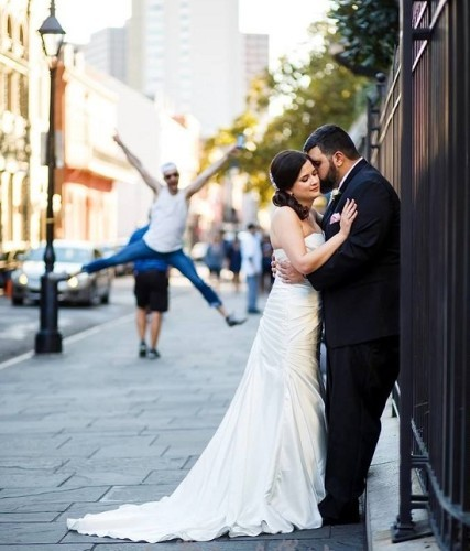 This Couple Just Realised One Of Their Wedding Photos