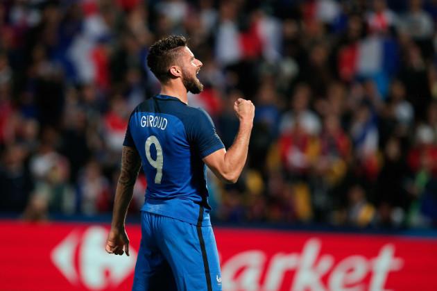 France Scotland Soccer