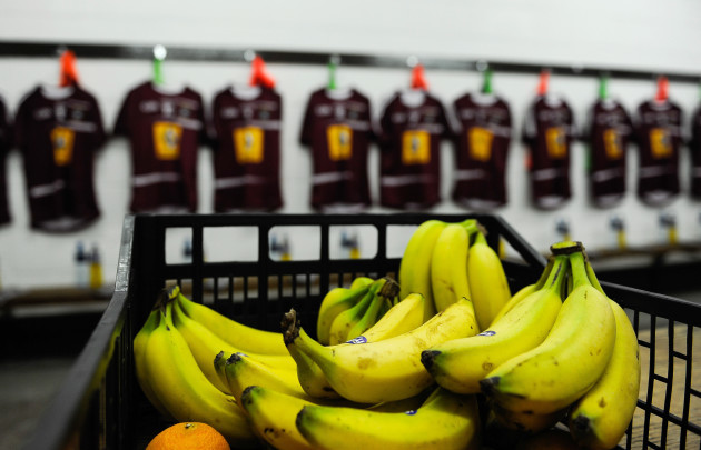 A view of the Westmeath dressing room ahead of the game