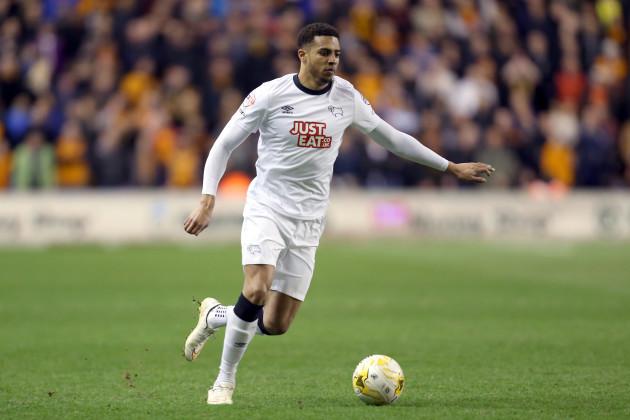 Soccer - Sky Bet Championship - Wolverhampton Wanderers v Derby County - Molineux Stadium