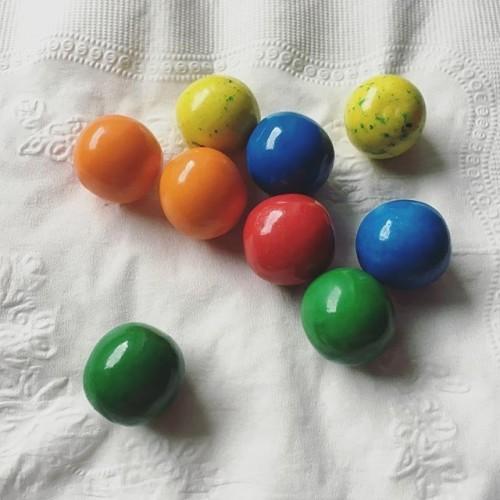 #gumballs #doublebubble #colorful #macro #chewinggum #bubblegum
