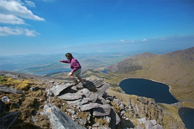 John-on-Caher-Mountain
