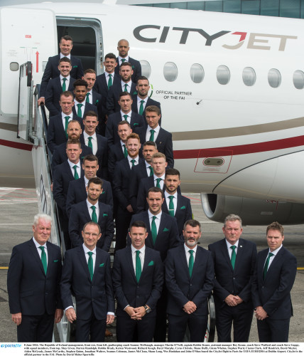 CityJet carries hopes of the nation to UEFA EURO2016 in France