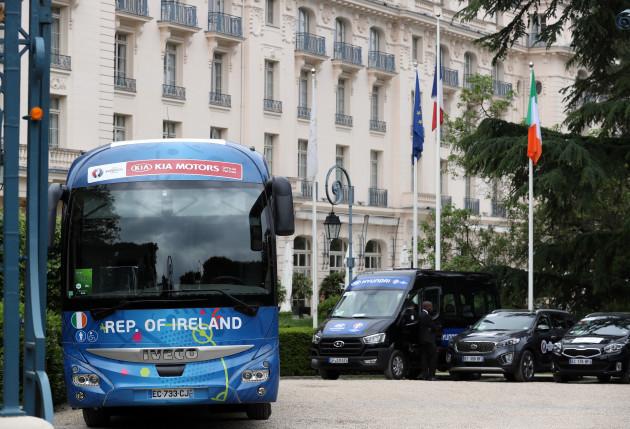 Republic of Ireland Team Base - Euro 2016 - Versailles