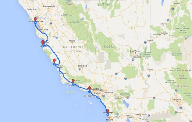Best Road Trip Usa Map.My Best Road Trip A Long Awaited Family Drive Along The American
