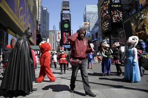 Times Square-Characters