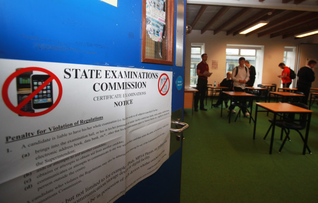 8/6/2016. Leaving Certificate Exams Begin