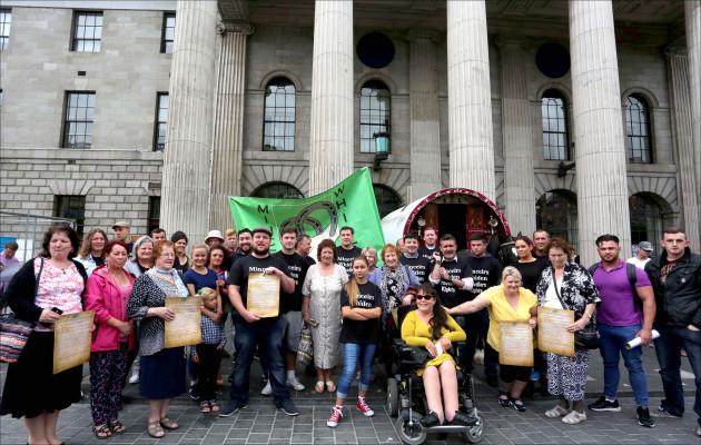 8/6/2016. Dublin. GPO, O'Connell Street. Re-Proclama