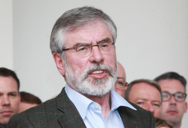 11/5/2016. Sinn Fein Team