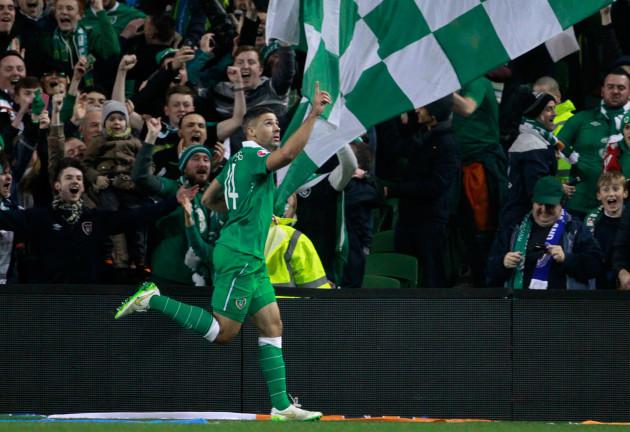 Ireland Bosnia Euro Soccer