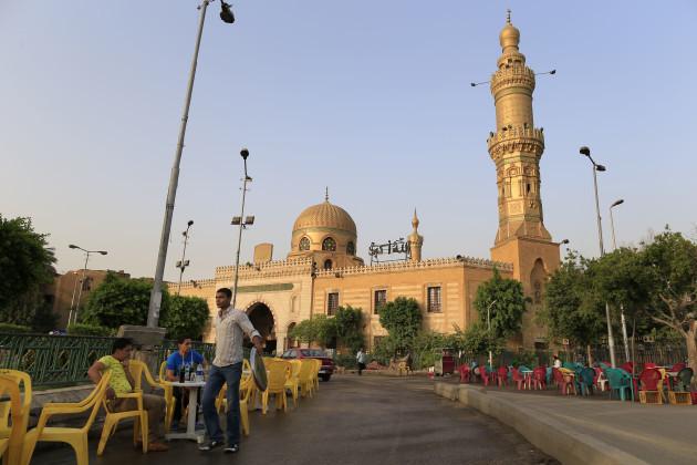 Mideast Egypt Sufis