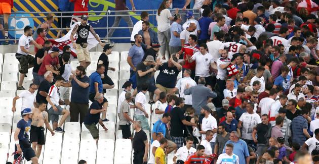 England v Russia - UEFA Euro 2016 - Group B - Stade Velodrome