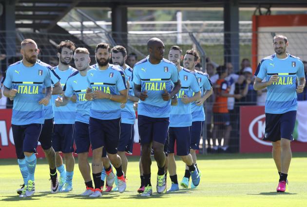 Soccer Euro 2016 Italy