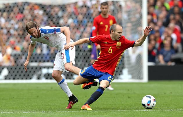 Spain v Czech Republic - UEFA Euro 2016 - Group D - Stadium de Toulouse