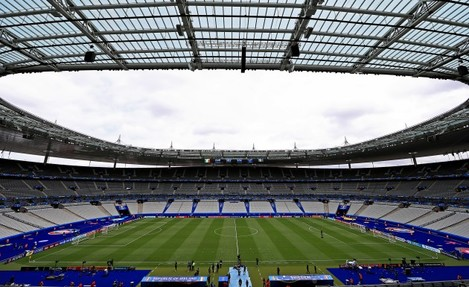 A view of the Stade de France before the game