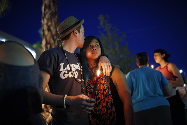 Nightclub Shooting Las Vegas Vigil