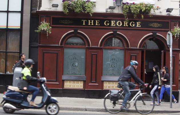 The george gay pub