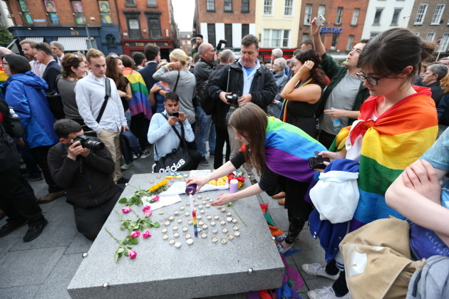 13/06/2016. Irish LGBT communities, join us in a r