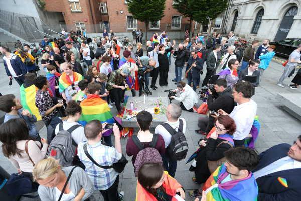 LGBT vigil