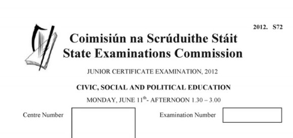 15 memories anyone who studied CSPE for the Junior Cert will recognise