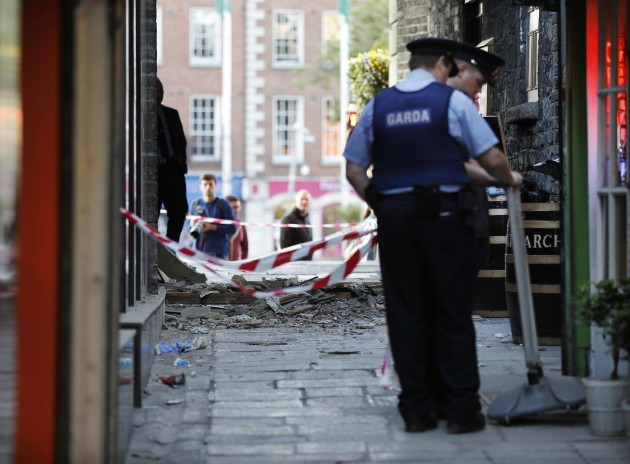 0008 Roof collapse of archway at Temple Bar copy