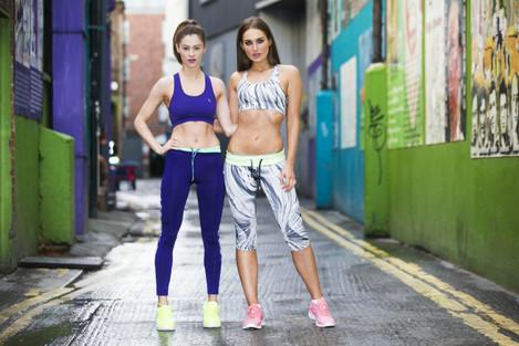 . Super fit model Roz Purce