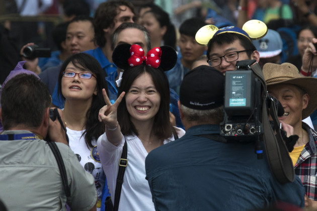 China Shanghai Disneyland