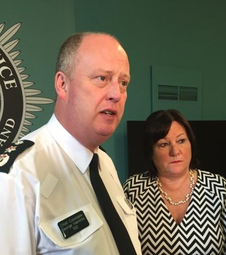 CS spray incident in Belfast