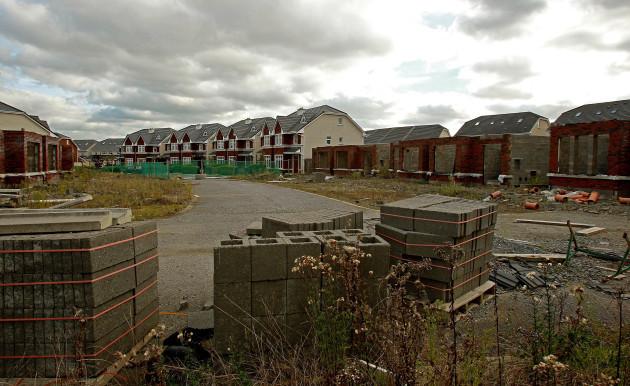 Unfinished housing estates funding shortage