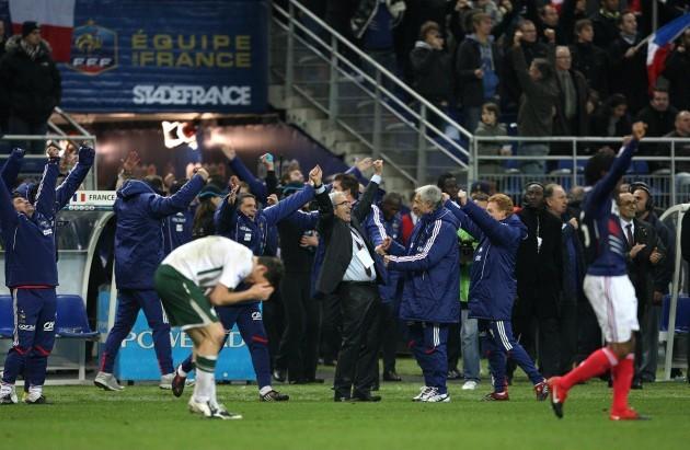 Soccer - FIFA World Cup 2010 - Play Offs - Second Leg - France v Republic of Ireland - Stade de France