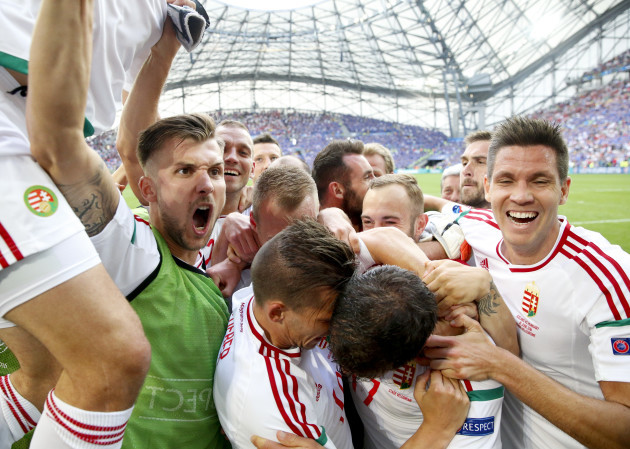 Soccer Euro 2016 Iceland Hungary