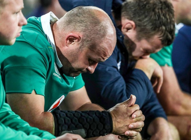 Rory Best dejected