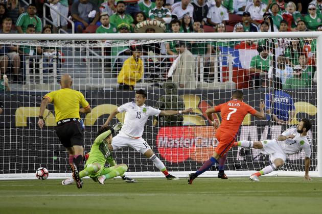 Copa America Centenario Mexico Chile Soccer