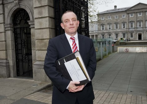 File Photo The Taoiseach Enda Kenny TD has announced the appointment of Senator Jerry Buttimer as Leader of the Seanad.