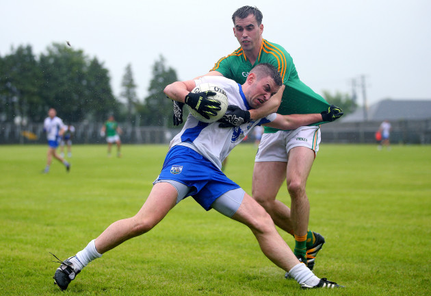 Paddy Maguire with Gavin Crotty