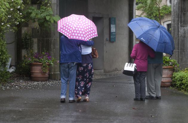 19/6/2016. Summer Weather. Two couples brave the b