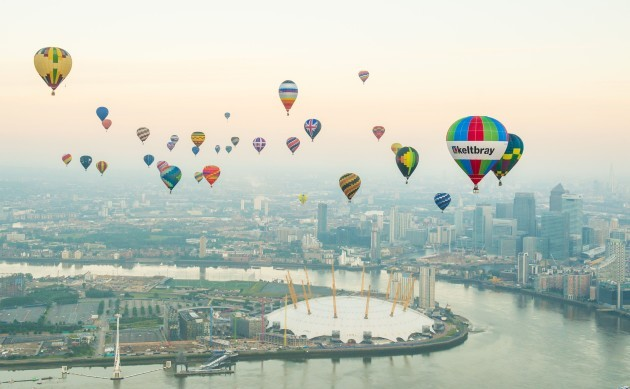 Lord Mayor's Hot Air Balloon Regatta 2016