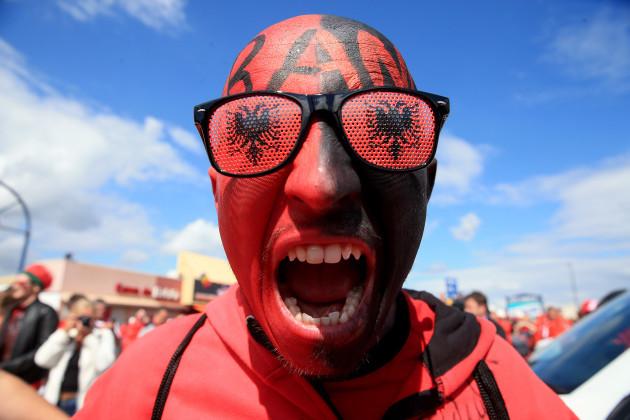 Romania v Albania - UEFA Euro 2016 - Group A - Stade de Lyon