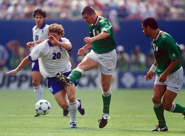 Roy Keane and Paul McGrath 18/6/1994