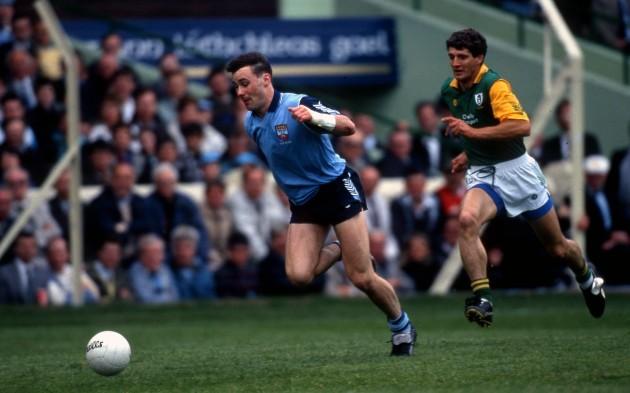Paul Curran with Terry Ferguson 1991