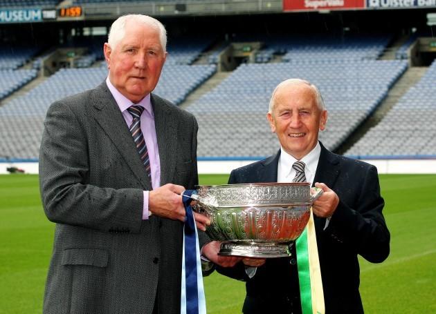 Paddy Cullen alongside Sean Boylan