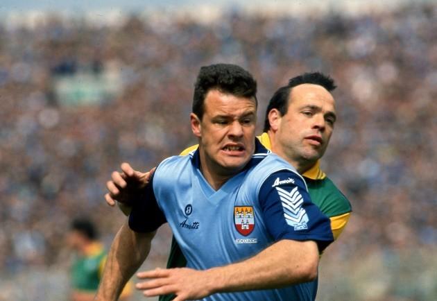 Vinny Murphy with Mick Lyons