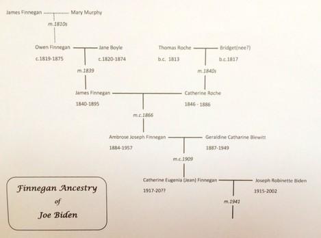 Finnegan Familt Tree of Joe Biden (1)